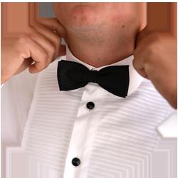 dealer outfit tuxedo
