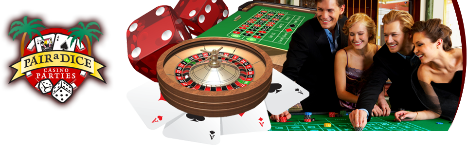 Pair a Dice Casino Parties Banner